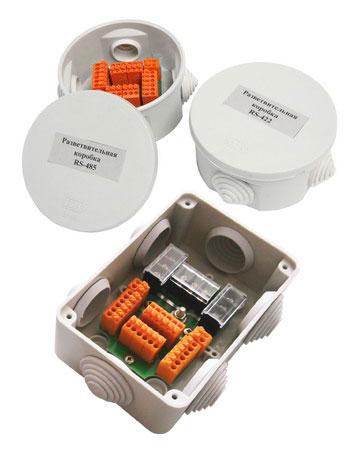 Разветвительные коробки RS-485 и RS-422