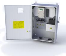 Блок измерения и защиты трансформаторного включения БИЗ 3Ф-2