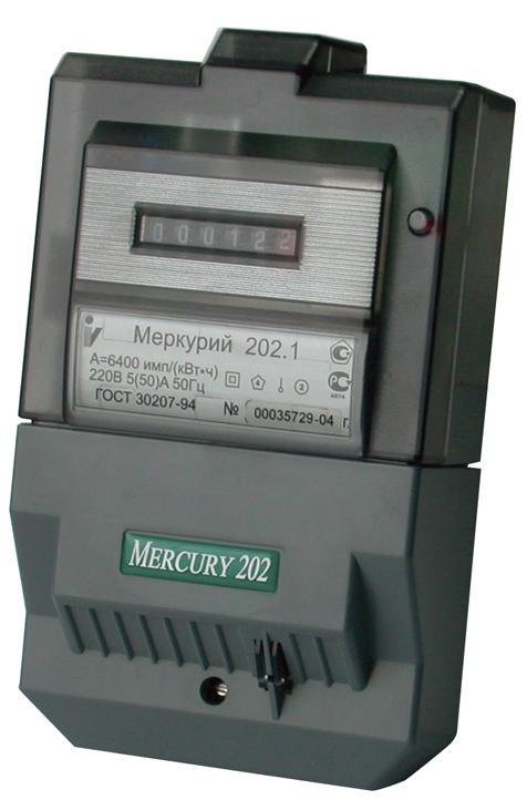 Электросчетчик Меркурий 202