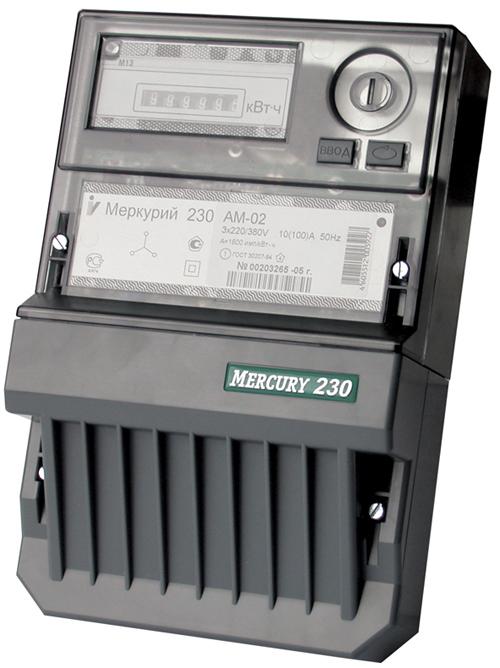 Электросчетчик Меркурий 230 АМ