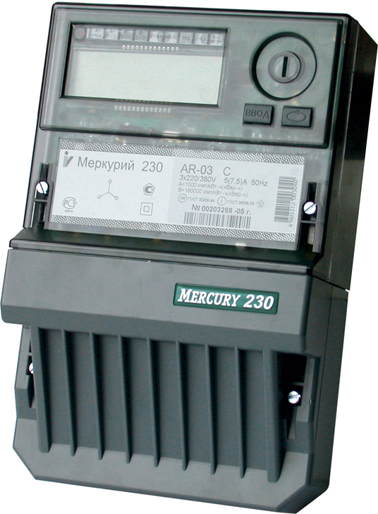Электросчетчик Меркурий 230 AR