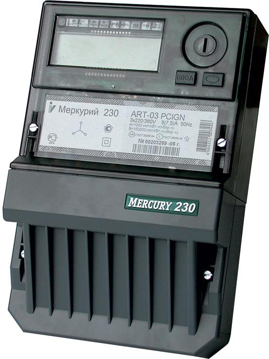Электросчетчик Меркурий 230 ART