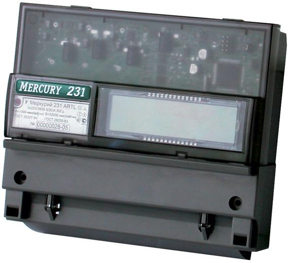 Электросчетчик Меркурий 231 АТ